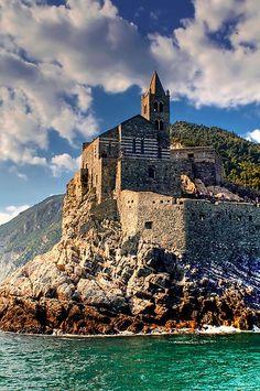 """""""Mare, rocce e fortificazioni"""", Porto Venere, Liguria, Italy, province of La Spezia"""