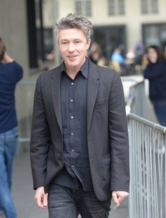 Aidan Gillen sighting at BBC Radio 1 on May 11 2017 in London England — Showbiz