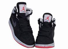finest selection d515d 657c1 Air Jordan 1 Retro 89 Black   Fire Red CEMENT GREY