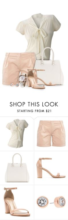 """""""Blush"""" by mwaldhaus ❤ liked on Polyvore featuring Matiere, Zalando, Victoria Beckham and Michael Kors"""