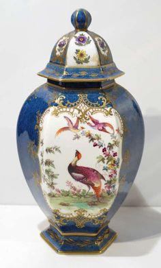 19th Century AntiqueWorcester Vase.