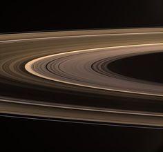 Cassini Solstice Mission: Rings Aglow