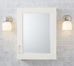 Bathroom Mirrors, Medicine Cabinets & Bathroom Shelving | Pottery Barn