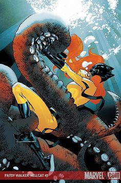 Hellcat - Patsy Walker by  Stuart Immonen
