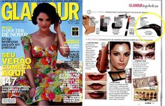 delineador The Curve @ Glamour (agosto/2013)