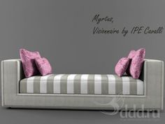"3DDD Model - ""PROFI"" IPE Cavalli / Myrtus 3dsMax 2011 + fbx (Vray) : Другая мягкая мебель : Файлы : 3D модели, уроки, текстуры, 3d max, Vray"
