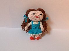 Ravelry: The wizard of Oz: Dorothy pattern by Deesz D
