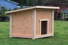 dog house plans | Large Dog House Plan #2 * * * * * * * *