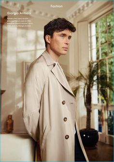 Peaky Blinders actor Cillian Murphy finds his sartorial footing in a chic photo shoot from the pages of Esquire UK. The 40 year-old actor is outfitted in fine coats from a bevy of labels that include Sandro, Gucci and Giorgio Armani. Styled by Catherine Hayward, Murphy is photographed by Tomo Brejc. Related: Cillian Murphy Stars... [Read More]