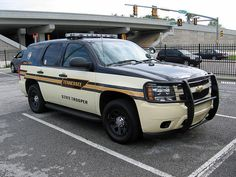 Tennessee State Police, chevy tahoe