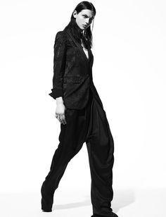 Karlina Caune for Numero September 2012