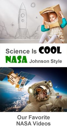 """The """"NASA Johnson Style"""" video is simply awesome. Will definitely make your kid want to learn more about space! Space Activities, Fun Activities For Kids, Science For Kids, Science Activities, Science Projects, Space Preschool, Engineering Projects, Mad Science, Science Ideas"""
