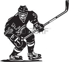 hockey%20stick%20clipart%20black%20and%20white
