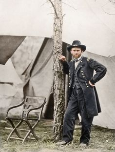 Ulysses S. Grant at City Point, 1864
