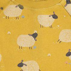 Buy John Lewis Baby Sheep Jumper, Yellow Online at johnlewis.com