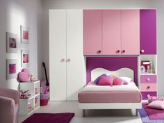 Cameretta a ponte CRISTINA #design #bedroom #camerette #furnishing