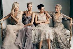 Elegant Mix n Match Bridesmaid Dress Design