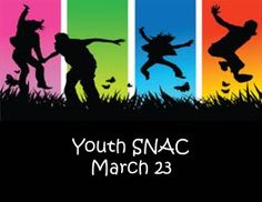 Youth SNAC coming up at WCC in The Woodlands, TX