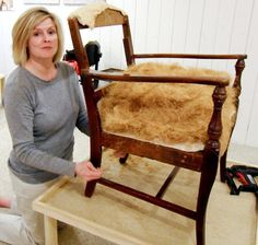 More upholstery tutorials