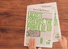 Lacoste Legends (Argentina) Creative Direction, Production, Coordination, Installation, Illustration and Graphic Design  by POGO CREATIVE CO.