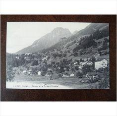 Switzerland Salvan Barmez et la Point d'Emanet J J 6471 postcard mountains