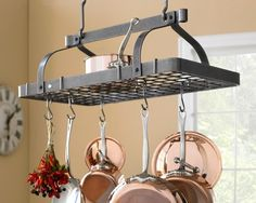 $300 Enclume Grande Cuisine Rectangular Pot Rack | Williams-Sonoma
