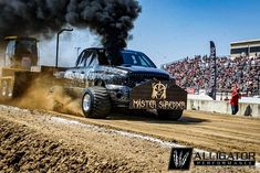 Industrial Injection / Shawn Baca sled pull shot at Full Pull, Rolling Coal, Truck Pulls, Truck Quotes, Logging Equipment, Tractor Pulling, Sled, Tractors, Monster Trucks