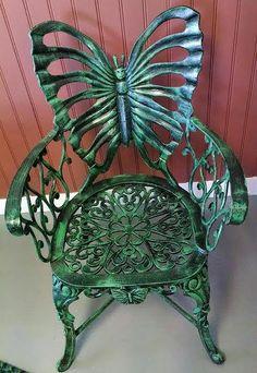 Aluminum Butterfly Chair
