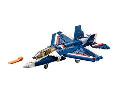 Thunder over land and sea with the 3-in-1 Blue Power Jet!