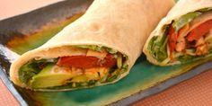 Chicken, Capsicum and Avocado Burrito