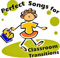 Classroom management ideas: Songs for Classroom Transitions. Classroom Procedures, Classroom Behavior, Music Classroom, Classroom Management, Class Management, Behavior Management, Future Classroom, Preschool Music, Kindergarten Classroom