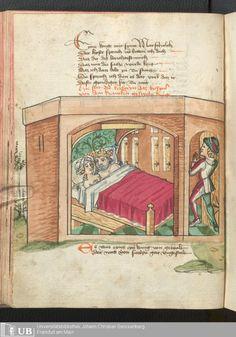 144 [70v] - Ms. germ. qu. 12 - Die sieben weisen Meister - Page - Mittelalterliche Handschriften - Digitale Sammlungen Frankfurt 1471