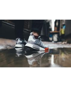 Adidas Nmd Runner City Pack Moscow Gray Gray Red trainers for cheap