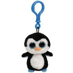 979219abe2c Beanie boo keychains · Ty Beanie Boos Waddles the Penguin Key Clip New on  eBay! Beanie Buddies