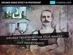► GRUNGE IMAGE EFFECT with 6 color options and splashes - instantly ARTify your photos. Just insert your image and the result is ready in seconds. You can choose from 6 color options and play with several grunge splashes for various results: http://www.123creative.com/photoshop-add-ons-photo-actions-atn-and-text-effects/1331-grunge-image-effect-with-6-color-options-and-splashes.html