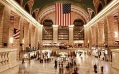 The always beautiful Grand Central Station.