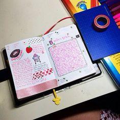 #hobonichi 02.02-03.14 #powerpuffkay #techo #diary #notebook #planner #journal #pink #girly #kawaii #decotape #markers #5 #monkey #hat #toddler #doodle #superbowl #football   by powerpuffkay