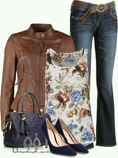 Such a pretty outfit! Color, print, wash, cut, everything! #StitchFix