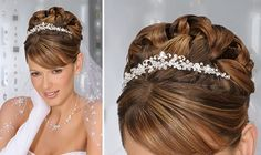 Wedding Hairstyles Up-dos with Tiara | Wedding Hairstyles Up-dos With Veil 2012