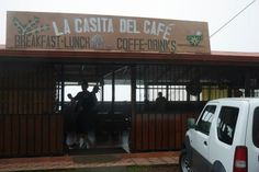La Casita Del Cafe in Atenas, Costa Rica with Uncle B. This place is breathtaking.  A cafe on the mountain.