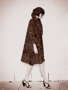 perks and mini, rachel comey, karen walker Yamaguchi, Reversible Dress, Knitted Coat, John The Baptist, Karen Walker, Fashion History, Style Icons, Love Fashion, Supermodels