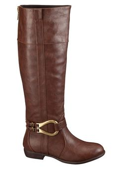 Monica Zipper Back Riding Boot (original price, $59) available at #Maurices