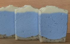 Batch 1 with VERY fine rivers in the water. Soap Maker, Cold Process Soap, Rivers, Water, Life, Food, Gripe Water, Essen, River