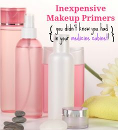 Looking for a cheap makeup primer to try? Check out my these suggestions (some are natural too!)