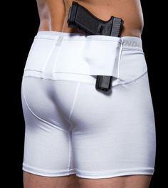 UnderTech UnderCover Men's Concealment Shorts Single Pair