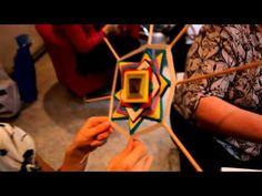 Индейские мандалы Ojos de Dios.mp4 - YouTube