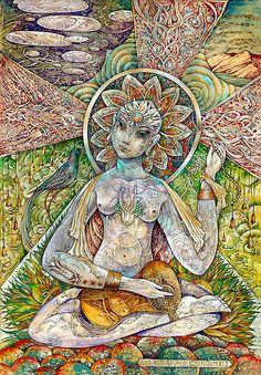 "Veda Ram ""Очищение радостью"" Ancient Scripts, Alchemy Symbols, Bhakti Yoga, Spirited Art, Flower Doodles, Divine Feminine, Tantra, Calligraphy Art, Surreal Art"
