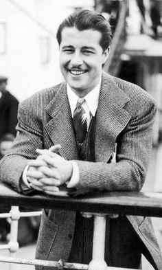 Don Ameche aboard the Queen Mary  1938