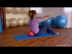 Learn Pilates DVD; 10 Minute Workout on the Small Ball, Beginner/Intermediate Level