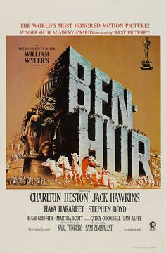 Ben Hur   1959   William Wyler. The real one!                              …